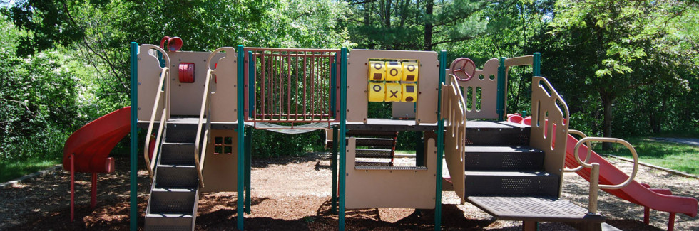Children's Playground at Winchester Place in Portsmouth NH